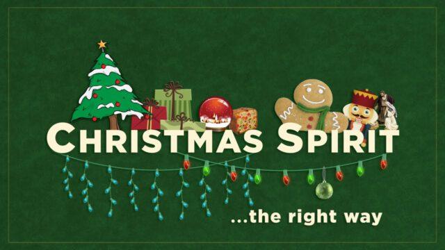 Dan Stevers – Christmas Spirit (The Right Way)