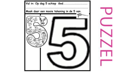 Puzzel – Genesis 1 – Schepping 11