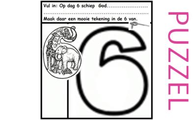Puzzel – Genesis 1 – Schepping 12
