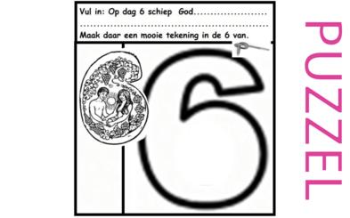Puzzel – Genesis 1 – Schepping 13