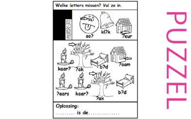 Puzzel – Genesis 1 – Schepping 17
