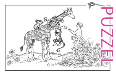 Puzzel – Genesis 1 – Schepping 4