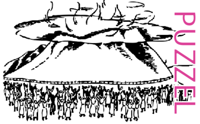 Puzzel – Exodus 19, 20, 24, 32, 33, 34 – Mozes, woestijn, wet, gouden kalf 4