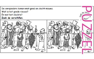 Puzzel – Numeri 13, 14, Deuteronomium 1, 8, 11 – Mozes, verkenners, Kanaän 4