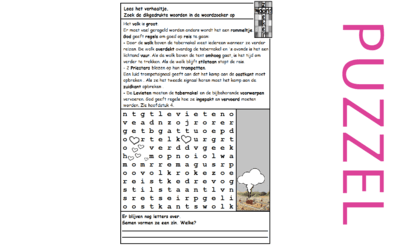 Puzzel – Numeri  3, 4, 9, 10, Deuteronomium 10 – Mozes, regels om te reizen, wolk, trompetten, tabernakel