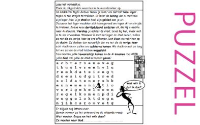 puzzel jozua 7 8 ai hinderlaag vraag wat wilt u
