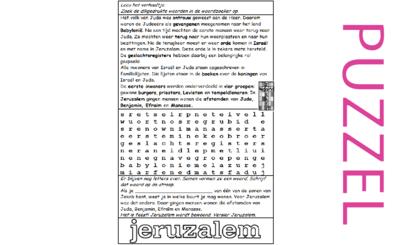 Puzzel – 1 Kronieken 9, Nehemia 11 – nut geslachtsregister, ballingschap 16