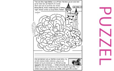 Puzzel – 1 Koningen 19, 21, 2 Koningen 9 – Jehu, Joram gedood, Achab, Izebel