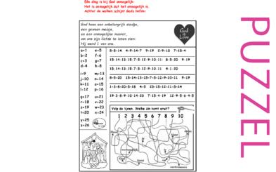 Kerstpuzzel bij Dan Stevers – The Christmas Story, Lucas 1, 2