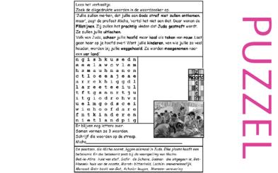 Puzzel – Micha 1 – God straft, heidenen uitlachen