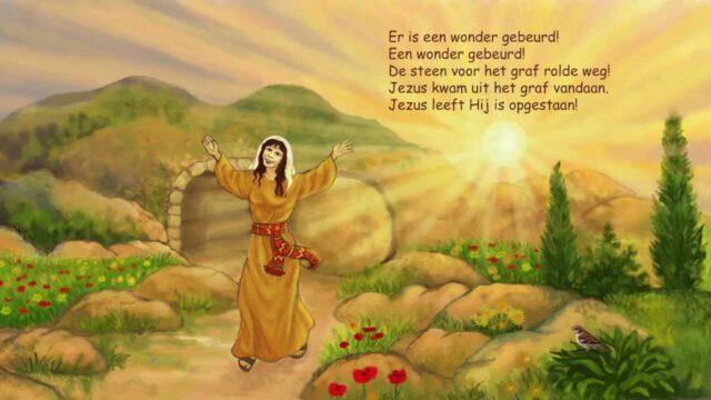 Kinderlied: Wat een wonder! (Pasen) (filmpje)