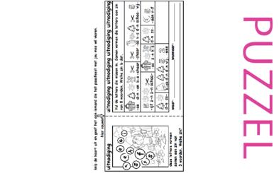 Puzzel – Mattheüs 28 – Pasen, nodig iemand uit, zie filmpje paasdossier