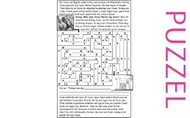 Puzzel – 2 Koningen 23, 2 Kronieken 35 – Josia gedood