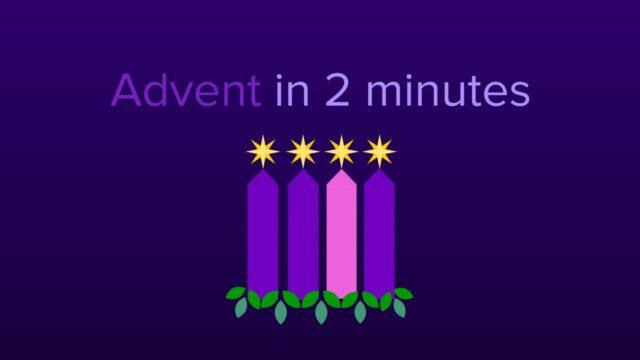 Advent in twee minuten