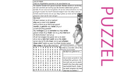 Puzzel – Sefanja 3 – belofte van redding