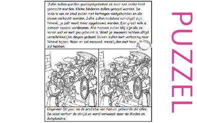 Puzzel – Nahum 3 – straf voor Assyrië