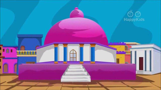 Salomo bouwt een tempel