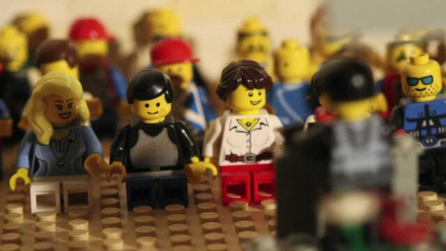 KERK IN LEGO