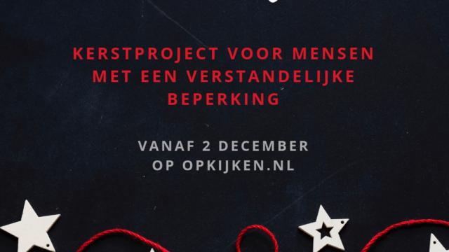 Kerstproject: Ik ben welkom!