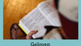 Geloven is zeker weten – bijbellezen met een sociale beperking