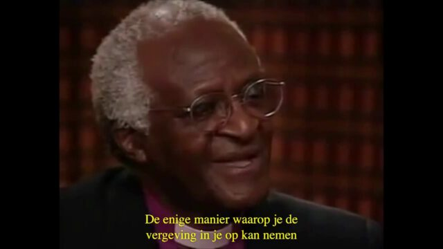 Desmond Tutu over vergeving