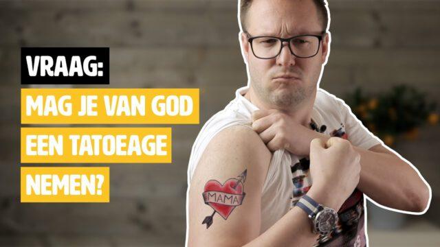 Mag je van God een tatoeage nemen? #geloofsvraag